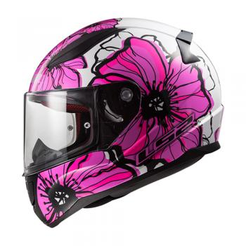 Helm LS2 POPPIES in pink, XS bis M